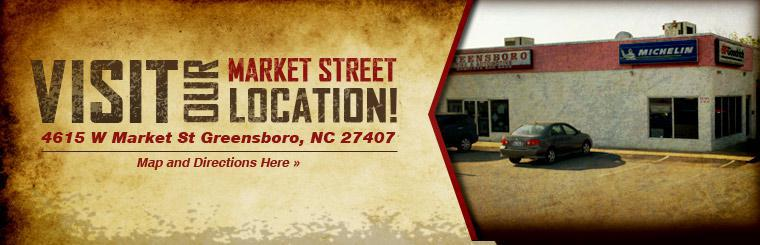 Visit our Market Street location! Click here for a map and directions.