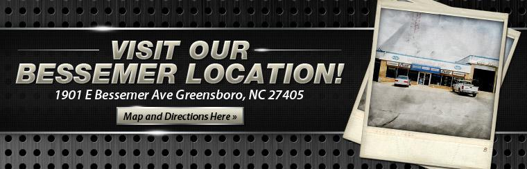 Visit our Bessemer location! Click here for a map and directions.