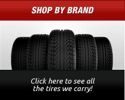 Shop by Brand: Click here to see all the tires we carry!