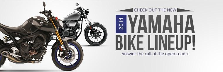 Check out the new 2014 Yamaha bike lineup!