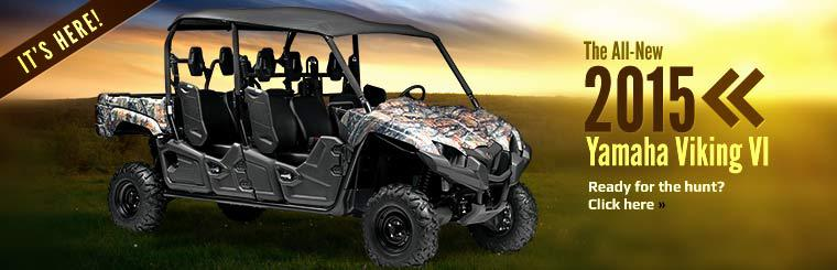 2015 Yamaha Viking VI: Click here to view the model.