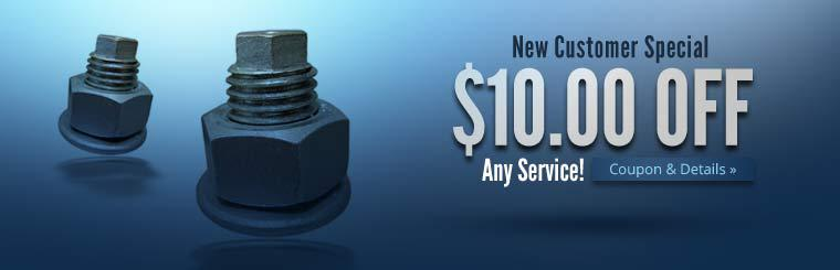 New Customer Special: Get $10.00 off any service! Click here for details.