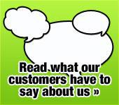 Read what our customers have to say about us