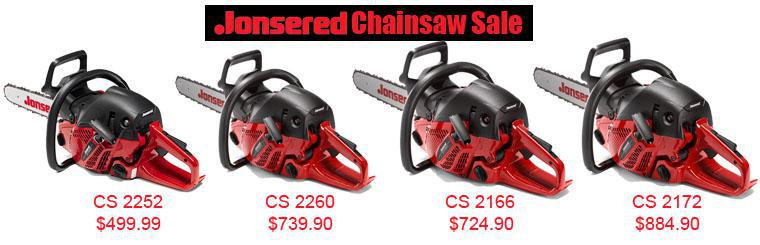 Jonesred Chainsaw Sale