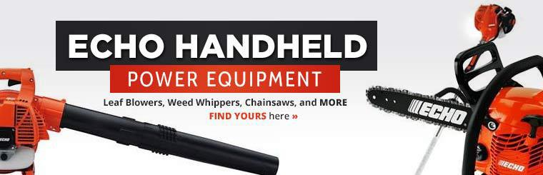 ECHO Handheld Power Equipment: Click here to view leaf blowers, weed whippers, chainsaws, and more!