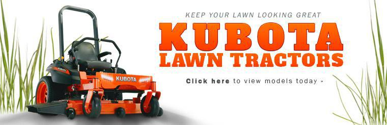 Keep your lawn looking great with Kubota lawn tractors. Click here to view models.