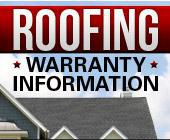 Roofing Warranty Information