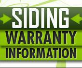 Siding Warranty Information