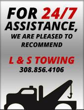 For 24/7 Assistance, We Are Pleased to Recommend: L & S Towing