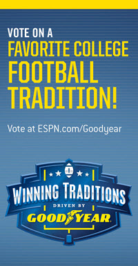 Vote on a Favortire College Football Tradition