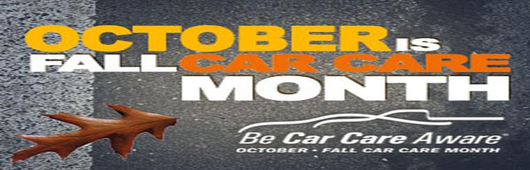 October Car Care Month
