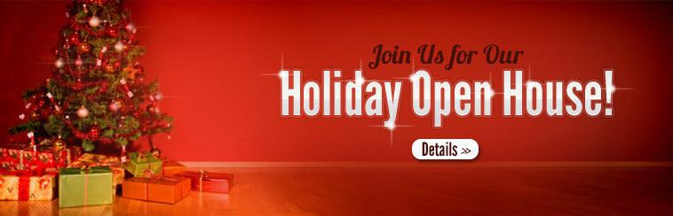 Holiday Open House: Click here for details.