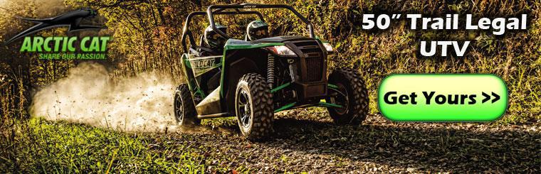 "50"" Wildcat Trail - Get yours today!"