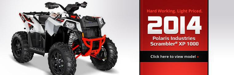 Click here to view the 2014 Polaris Industries Scrambler® XP 1000.