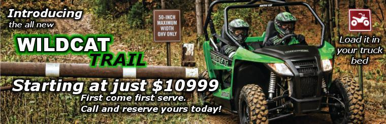 Watch the Wildcat Trail blow dust all over the RZR!