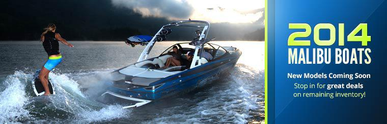 The 2014 Malibu boats are coming soon! Stop in for great deals on remaining inventory!