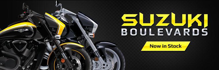 The 2014 Suzuki Boulevard models are now in stock!