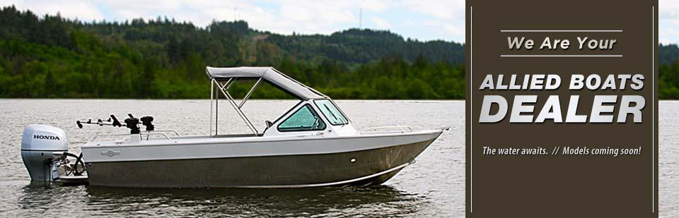 We are your Allied Boats dealer!