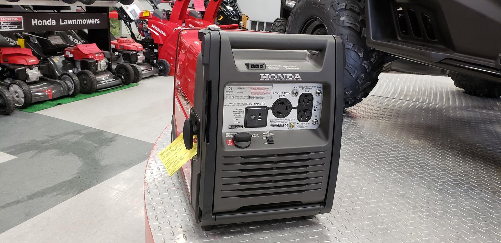 Honda Power Equipment EU3000iKC Ultra-Quiet 3000i
