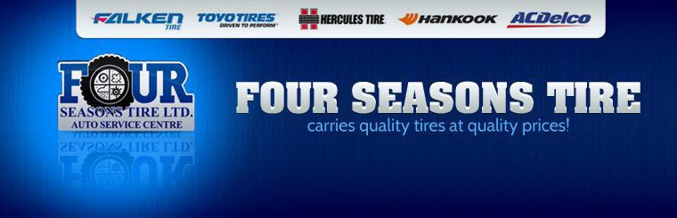Four Seasons Tire carries quality tires at quality prices! Click here to shop.