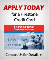 Apply today for a Firestone credit card!