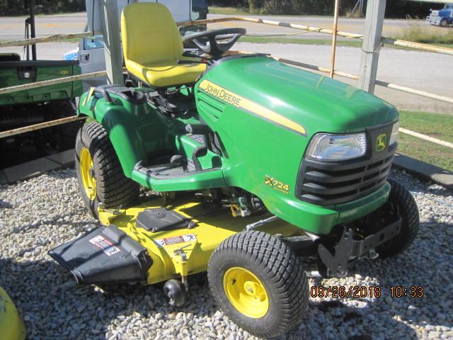 2012 John Deere Select Series X724 25 5 hp with 62