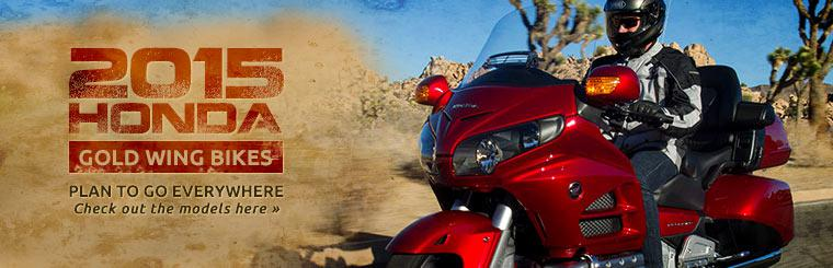 2015 Honda Gold Wing Bikes: Click here to view the models.