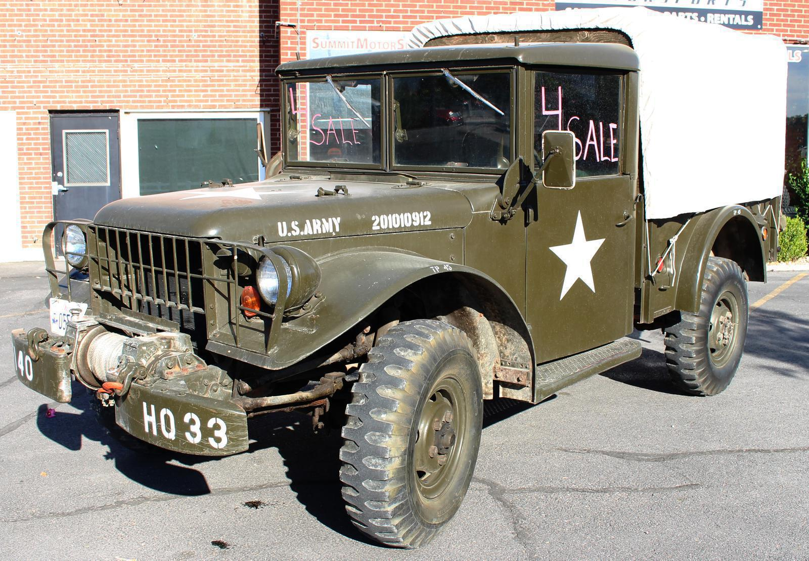 1953 Dodge M37 for sale in Spanish Fork, UT | Summit Motorsports (801)  405-7433