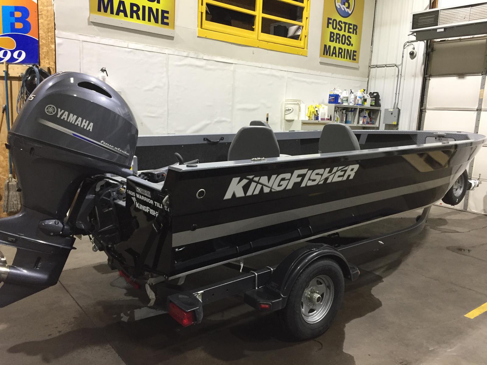 2019 Kingfisher Boats 1825 Warrior Tiller