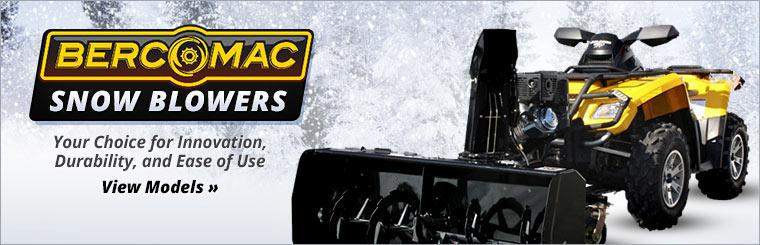 Bercomac Snow Blowers: Click here to view the models.
