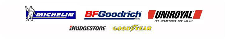 We proudly carry products from Bridgestone, Michelin®, and Goodyear.