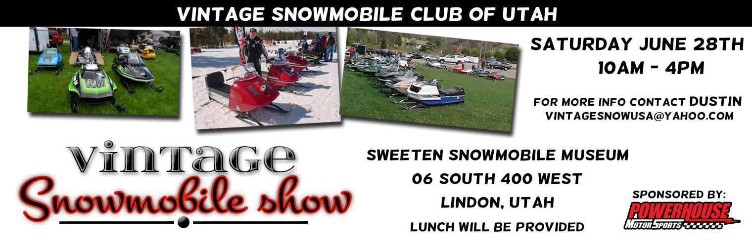 Vintage Snowmobile Show - June 28, 2014