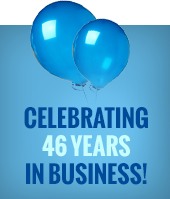 Celebrating 46 years in business!