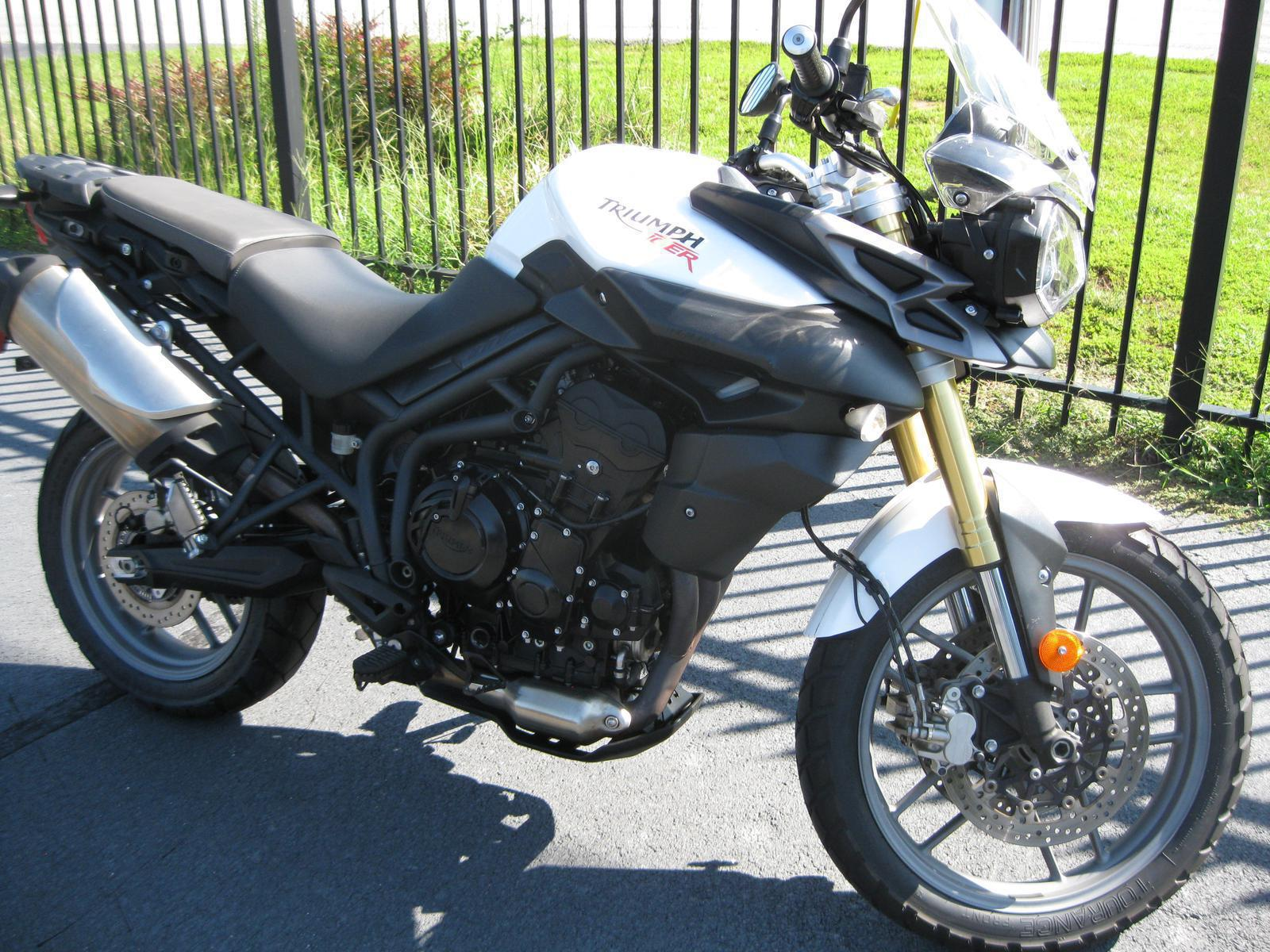 2014 Triumph Tiger 800 Abs For Sale In Buford Ga Hourglass Cycles
