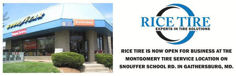 Rice Tire Gaithersburg Maryland