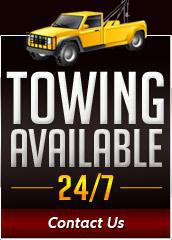 Towing Available 24/7: Contact Us