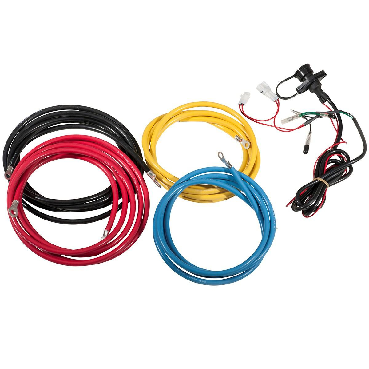warn winch wiring kit solidfonts winch battery cables wiring kits parts