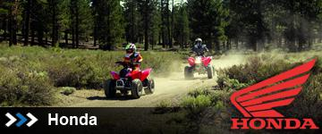 Honda ATVs at State 8 Motorcycles