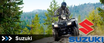 Suzuki ATVs at State 8 Motorcycles