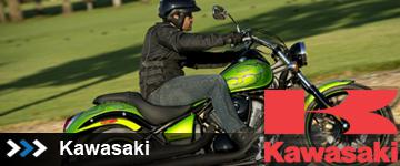 Kawasaki Cruisers at State 8 Motorcycles