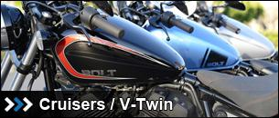 New Cruisers and V-Twins at State 8 Motorcycles