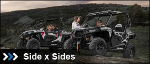 New Side x Side Vehicles at State 8 Motorcycles