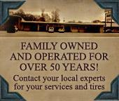 D & W Tire & Muffler Center has been family owned and operated for over 50 years!