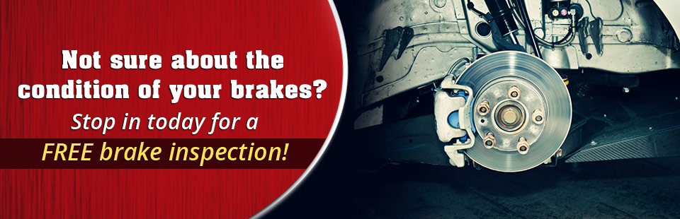 If you're not sure about the condition of your brakes, then stop in at Marquie & Lambert Tire for a free brake inspection! Click here to get your coupon today.