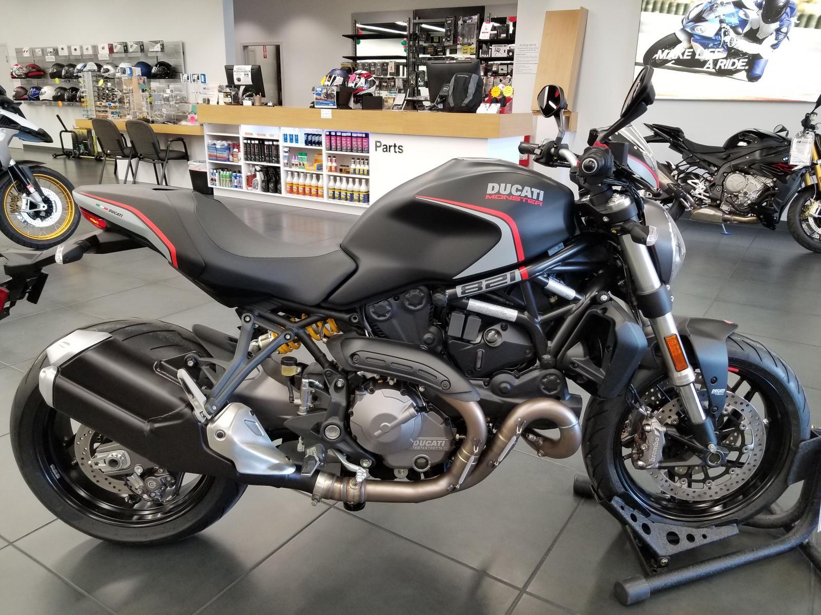Ducati Monster 821 >> 2019 Ducati Monster 821 Stealth