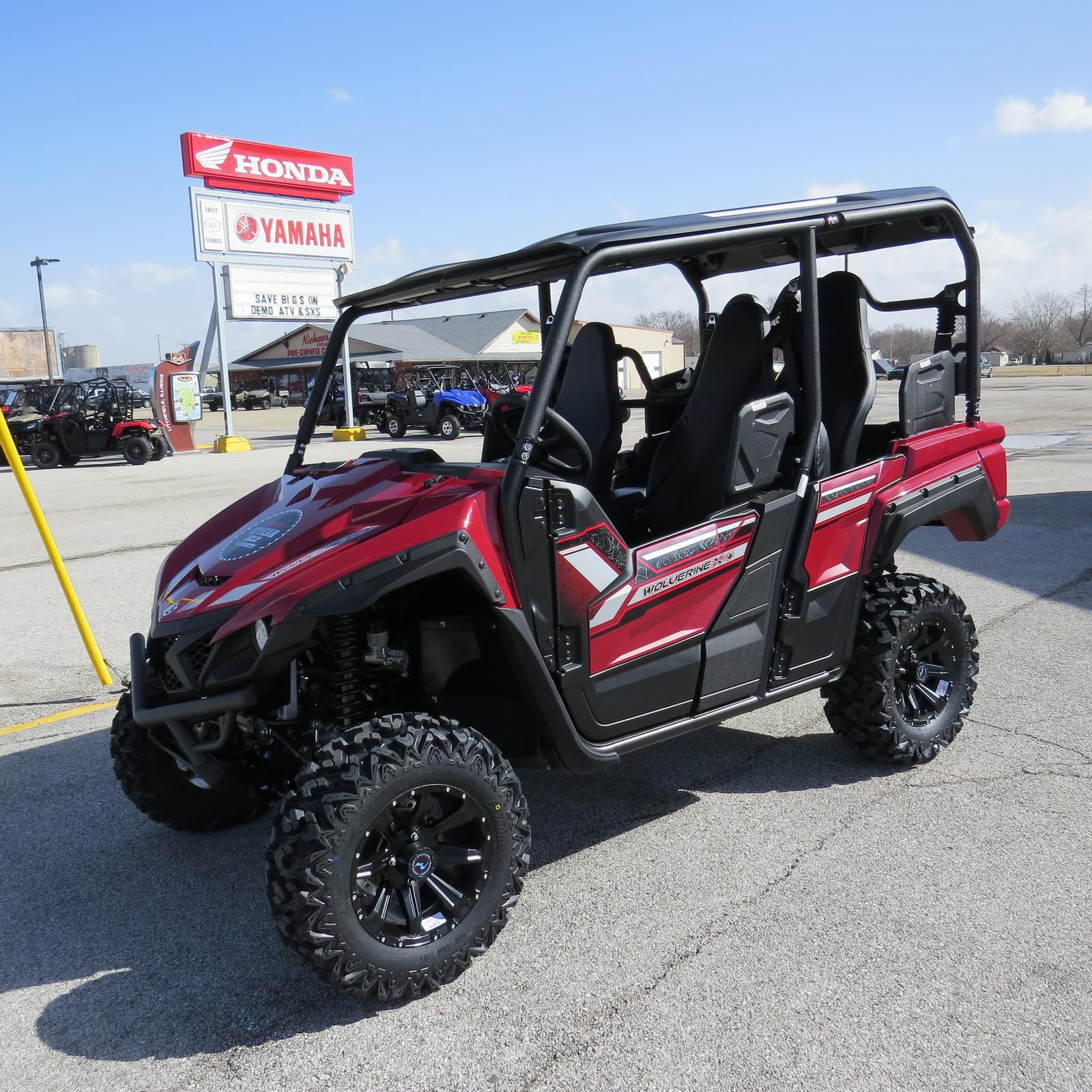 87f6761650b 2019 Yamaha Wolverine X4 for sale in Litchfield