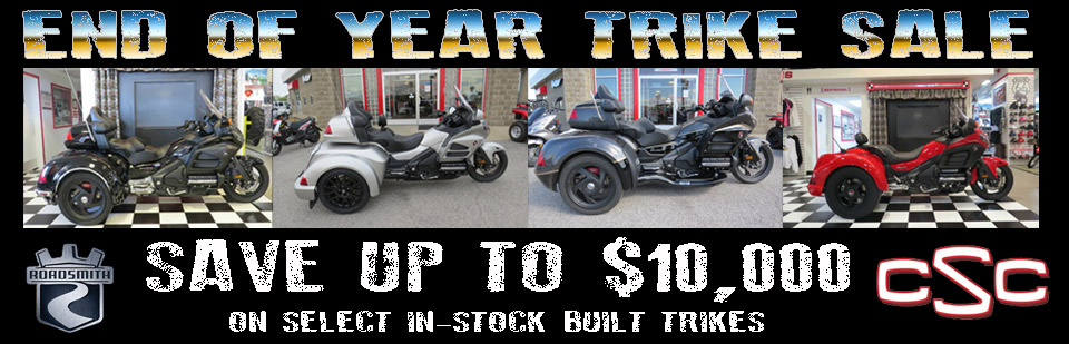 END OF YEAR TRIKE SALE!