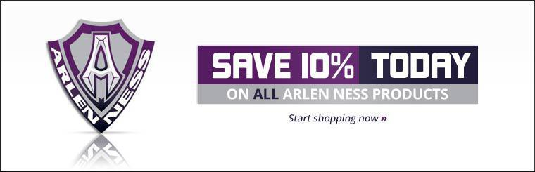 Save 10% today on all Arlen Ness products!