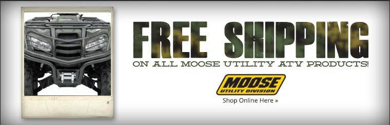 Get free shipping on all Moose Utility ATV products! Click here to shop online.