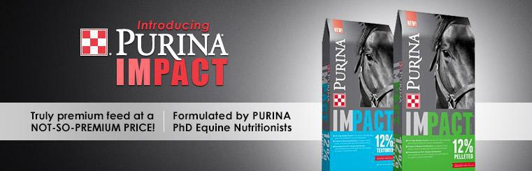 Introducing Purina Impact: Click here for details.